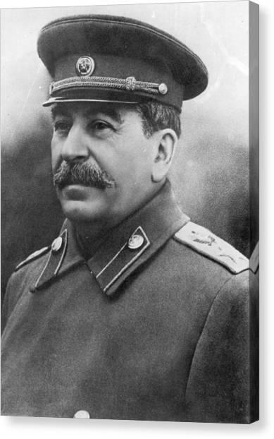 Joseph Stalin Canvas Print by Keystone