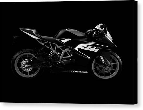 Duke University Canvas Print - Ktm Duke 125  by Smart Aviation