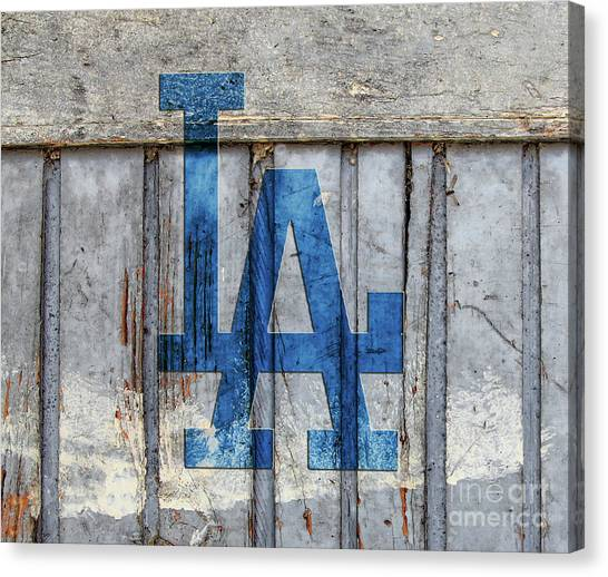 La Dodgers Canvas Print