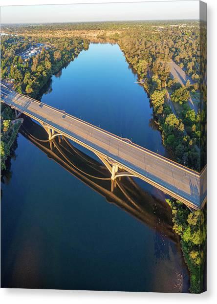 Lake Natoma Crossing Canvas Print