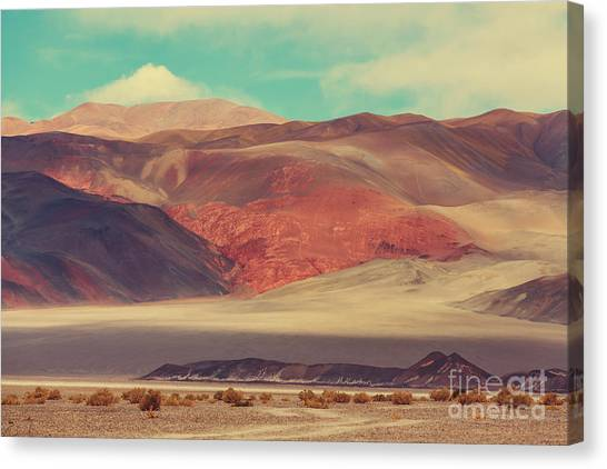 South American Canvas Print - Landscapes Of Northern Argentina by Galyna Andrushko