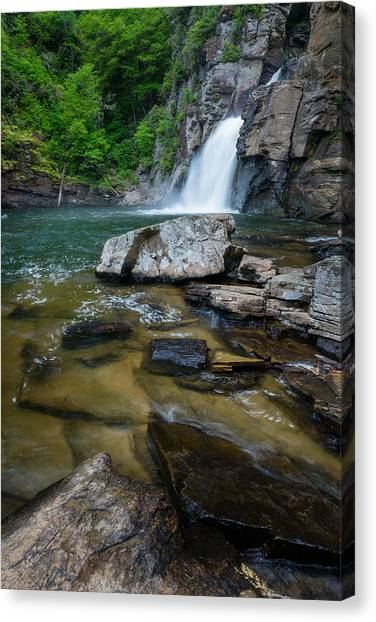 Linville Gorge - Waterfall Canvas Print