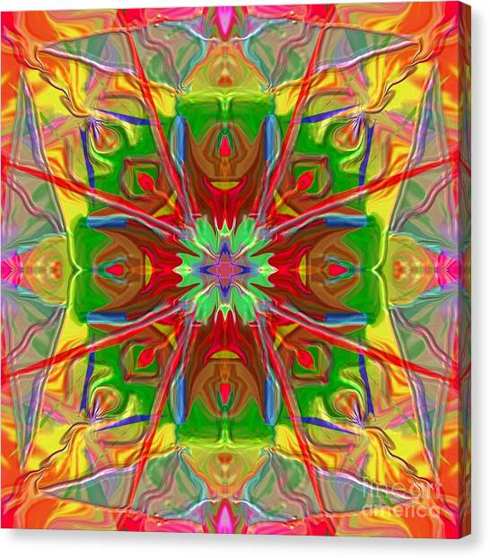 Mandala 12 8 2018 Canvas Print