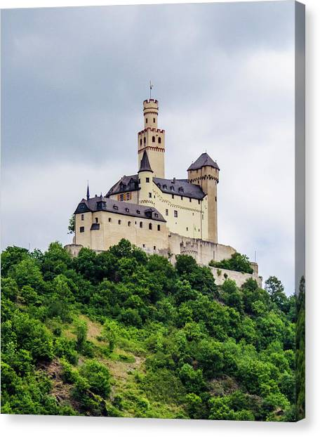 Marksburg Castle - 2 Canvas Print