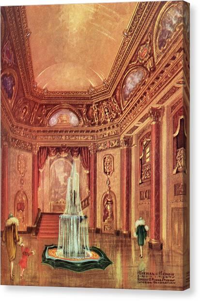 Mastbaum Theatre Canvas Print