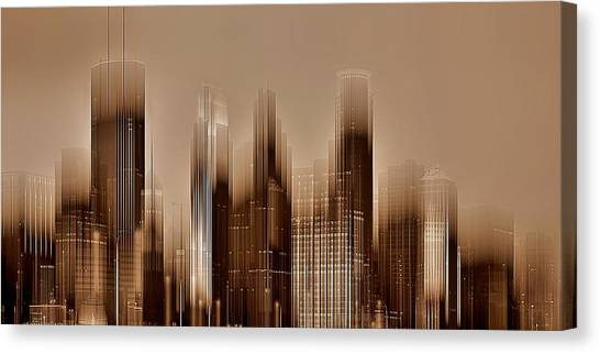 Minneapolis 2 Canvas Print