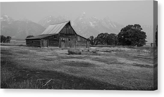 Mormon Barn Canvas Print