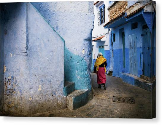 Canvas Print featuring the photograph Morocco by Nicole Young