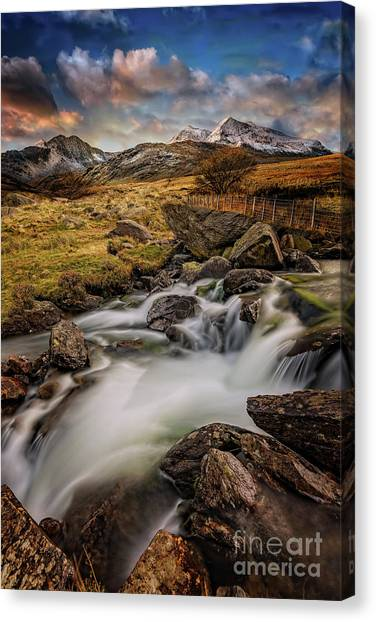 Canvas Print - Mountains North Wales by Adrian Evans