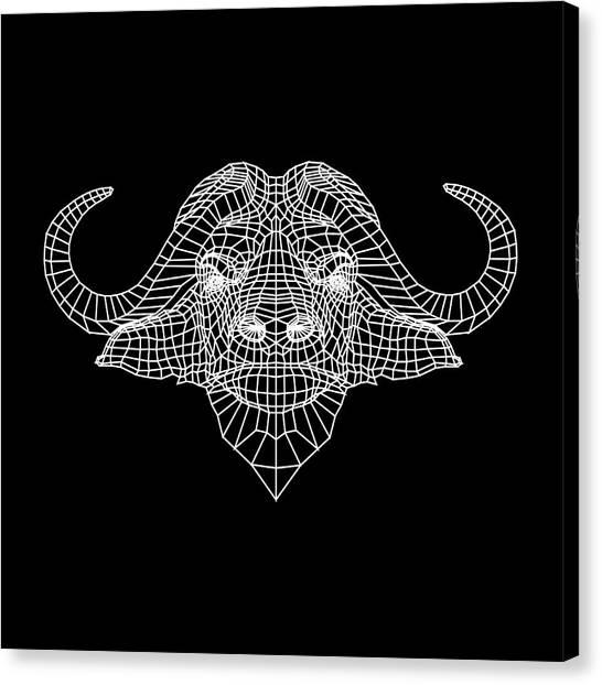 Lynx Canvas Print - Night Buffalo by Naxart Studio