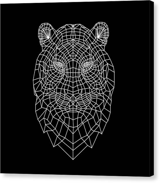 Lynx Canvas Print - Night Tiger by Naxart Studio