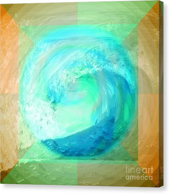 Ocean Earth Canvas Print