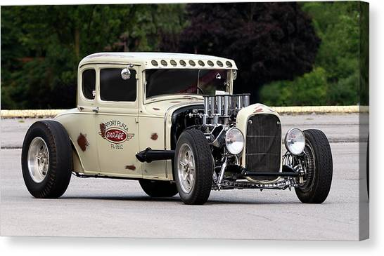 1932 Ford Canvas Print - Old School by Peter Chilelli