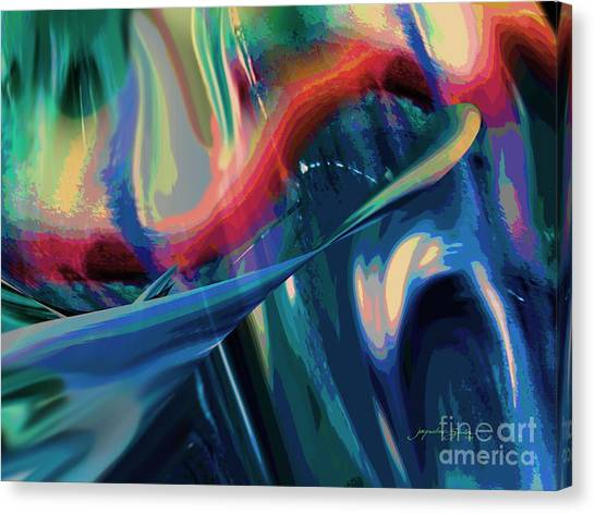On My Way Canvas Print