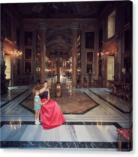 Princess Colonna Canvas Print
