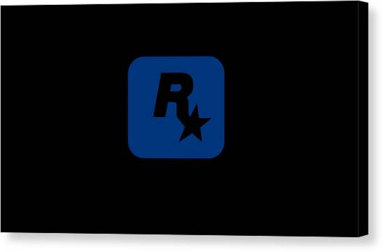 Grand Theft Auto Canvas Print - Rockstar Games by Snowflake Obsidian