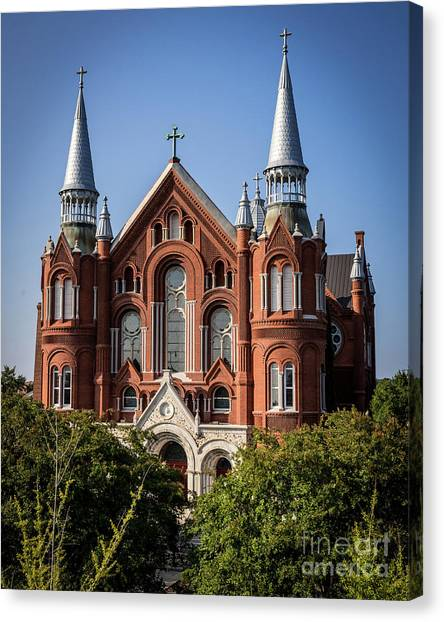 Sacred Heart Cultural Center - Augusta Ga Canvas Print