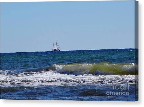 Canvas Print - Sailing by Megan Cohen