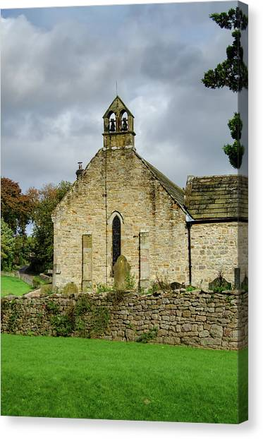 Saints Canvas Print - Saint Agathas Church by Smart Aviation