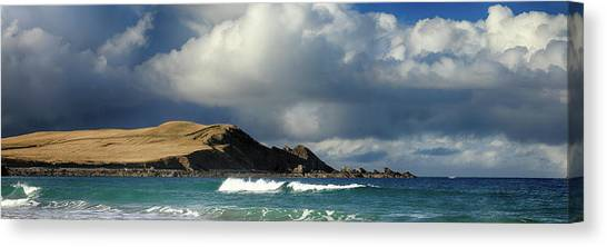 Canvas Print featuring the photograph Sango Bay - Durness by Grant Glendinning