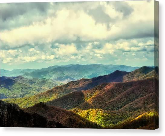 Smoky Mountain Memory Canvas Print