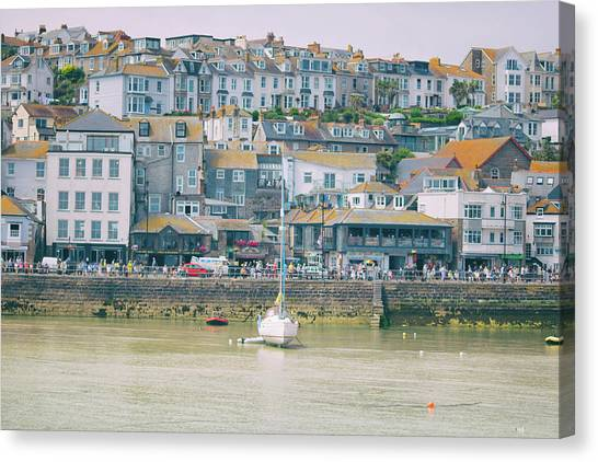 St Ives Canvas Print - St Ives by Martin Newman