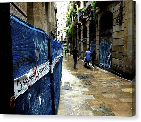 Street, Graffiti Canvas Print