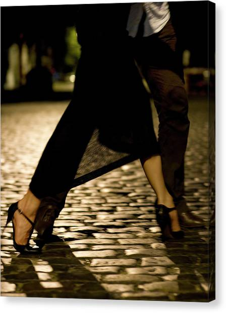 Street Tango Buenos Aires Canvas Print