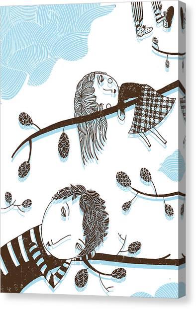 Sweet Dreams Canvas Print by Luciano Lozano