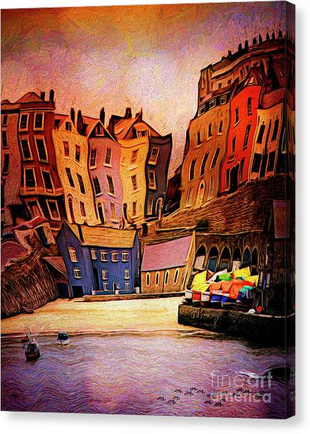 Tenby Canvas Print