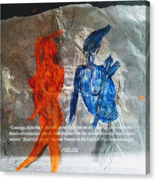 The Immolation Canvas Print