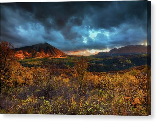 The Last Light Canvas Print