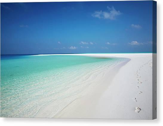 Lagoon Tropical Island: Tropical Island And Lagoon, Maldives By Sakis Papadopoulos