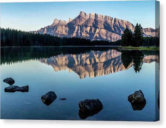 Two Jack Lake, Banff National Park, Alberta, Canada Canvas Print