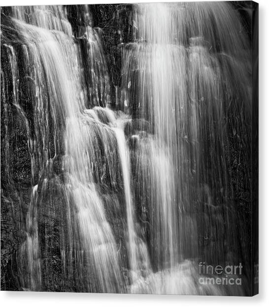 Canvas Print featuring the photograph Upper Cascade by Patrick M Lynch