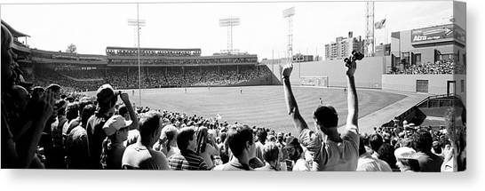Fenway Canvas Print - Usa, Massachusetts, Boston, Fenway Park by Panoramic Images