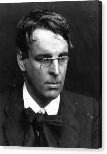 Nobel Canvas Print - W B Yeats by George C. Beresford