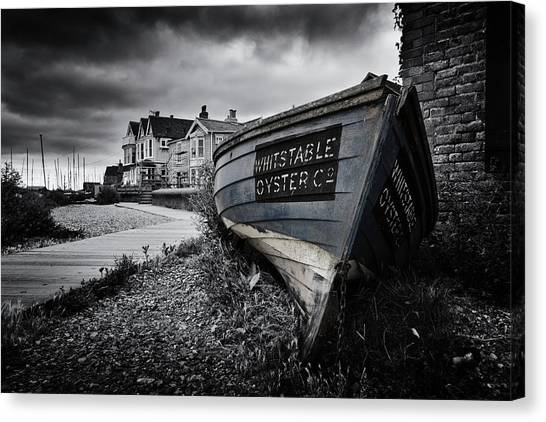 Oysters Canvas Print - Whitstable Oysters by Ian Hufton
