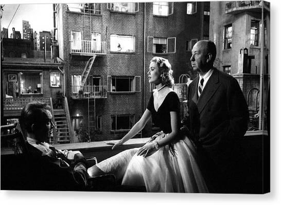 Rear Window Canvas Print by Michael Ochs Archives
