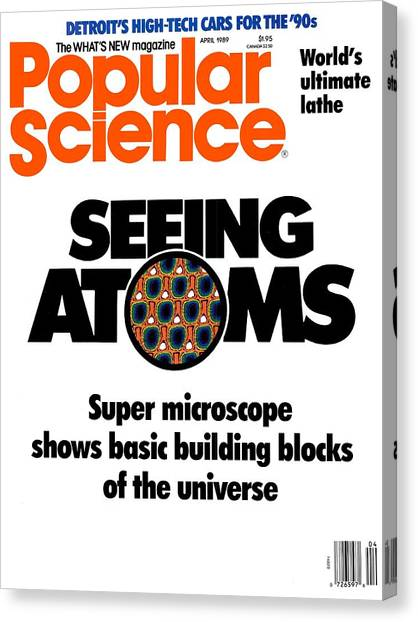 Popular Science Magazine Covers Canvas Print by Popular Science
