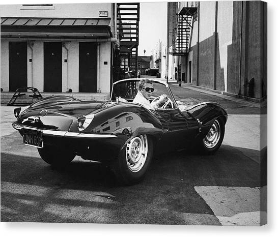 Steve Mcqueen Canvas Print by John Dominis