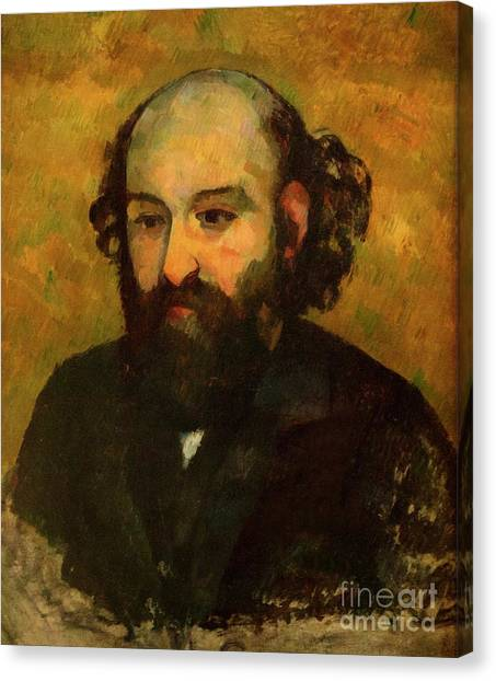 State Hermitage Canvas Print - Self-portrait by Peter Barritt