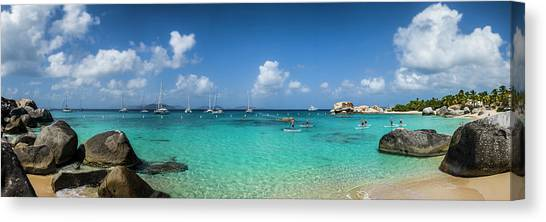 British Virgin Islands, Virgin Gorda Canvas Print by Walter Bibikow