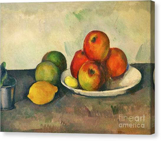 State Hermitage Canvas Print - Still Life With Apples by Peter Barritt
