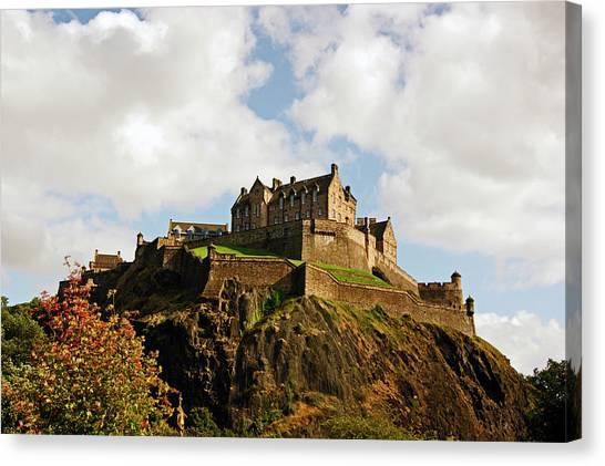 19/08/13 Edinburgh, The Castle. Canvas Print