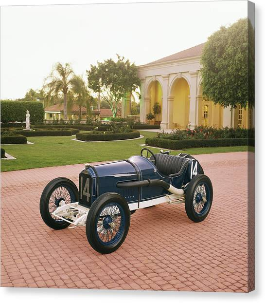 1913 Peugeot Coupe De Lauto Canvas Print