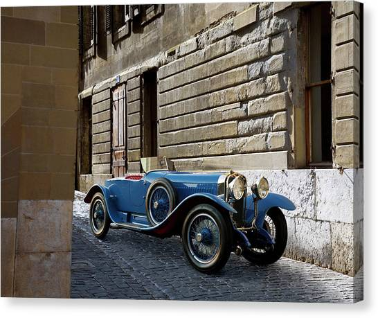 1928 Hispano-suiza H6c Canvas Print