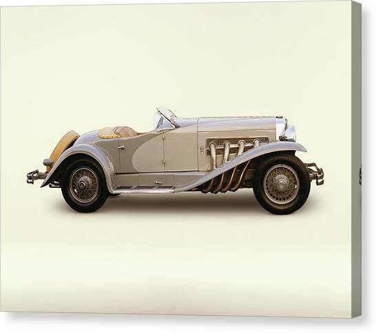 1935 Duesenberg Model Sj Short Wheelbase Canvas Print