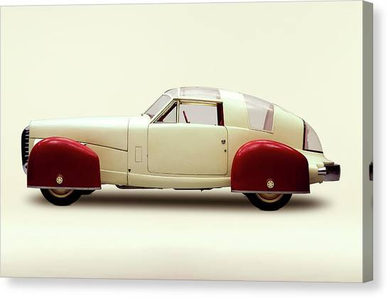 1948 Tasco Sport Coupe Prototype With Canvas Print
