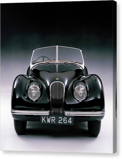 1950 Jaguar Xk 120 Canvas Print